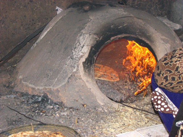 Baking bread from scratch