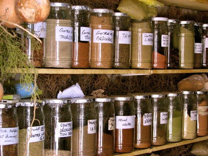 Herbal remedies, Essaouira, Morocco