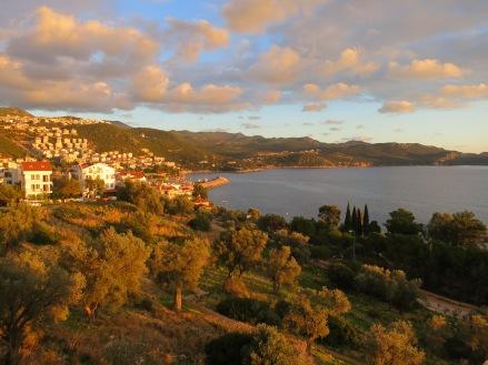 Sunset in Kas Turkey Copyright Mandy Sinclair